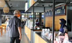 Gubernur Tinjau Penerapan Protokol Kesehatan di <em>Rest Area</em>