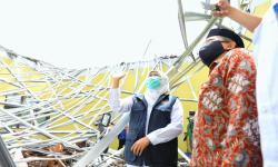 Khofifah Tinjau Lokasi Terdampak Gempa di Malang