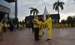 Danrem 091/ASN dan Gubernur Kaltim Lepas Atlet Ke Papua