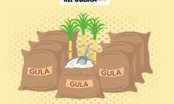 Kemendag: Impor Gula Bikin Defisit Perdagangan RI Membengkak