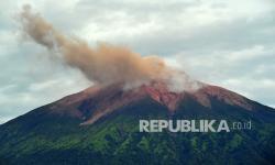 In Picture: Gempa Embusan Gunung Kerinci