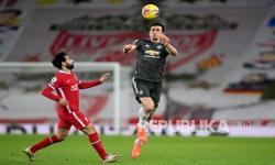 'MU Kesulitan Hadapi Tekanan Liverpool pada Babak Pertama'