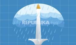 BMKG Perkirakan Sebagian Jakarta Diguyur Hujan pada Ahad