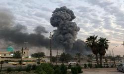 Serangan drone targetkan pangkalan militer di Baghdad, Irak