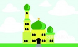 Masjid Agung Sungailiat Bersiap Gelar Sholat Jumat