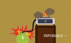Kompor Meledak Buat Dua Rumah di Cakung Terbakar