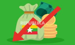 Infografis Myanmar Krisis Uang Tunai Akibat Kudeta