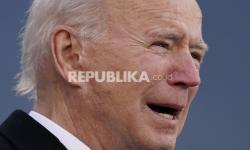 Infografis Pelantikan Joe Biden dalam Angka