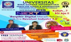 UBSI Tegal Ajak Berpikir Digital di Era Revolusi Industri