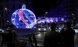 Ekonomi Anjlok, Madrid Tetap Banyak Nyalakan Lampu Natal