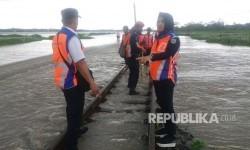 Daops 2 Jaga Ketat 44 Titik Jalur KA Rawan Bencana