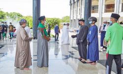 Sukses Laksanakan Sholat Jumat, Imam: Jangan Berpuas Diri