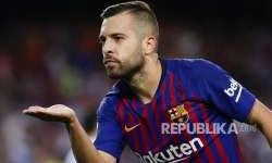 Inter Milan Tertarik Rekrut Jordi Alba dari Barcelona