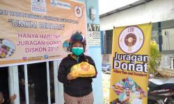 Rumah Juragan Donat Diserbu Massa
