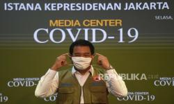 Juru Bicara Pemerintah untuk  Penanganan Covid-19 Wiku Adisasmito, menyatakan kasus Covid-19 di Indonesia turun hingga 20 persen