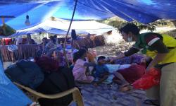 Relawan Askar Kauny Bantu Persalinan Korban Gempa