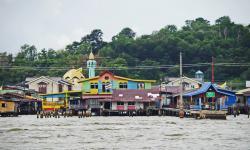 Kampong Ayer, Pemukiman di Atas Air Terbesar di Dunia