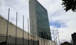 Shalat Jumat di Markas PBB