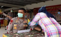Stok Darah Menipis Brimob Polda Jabar Lakukan Donor