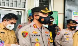 Kapolres Bogor Borong Basreng saat Sosialisasi PPKM