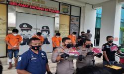 Polisi Ringkus Empat Pelaku Curanmor di Kota Tangsel