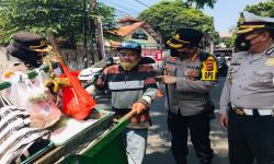 Kapolresta Tinjau Posko Prokes di Pasar Rakyat Kota Bogor