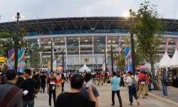 Kemeriahan Jelang Pembukaan Asian Games 2018