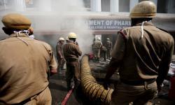 Kebakaran Kembali Terjadi di RS Covid-19 India