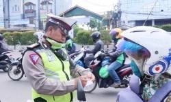 Tekan Angka Kecelakaan, Polres Depok Giatkan Razia