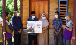 Kelompok Bakrie Rekonstruksi 75 Rumah di Mamuju