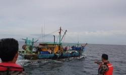 Kapal Pencuri Ikan Berbendera Malaysia Kembali Ditangkap
