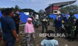 Tim <em>Trauma Healing</em> Polda Sulbar Pulihkan Anak Korban Gempa