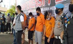 Lima Polisi Gadungan Ditangkap di Tangsel