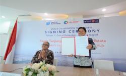 Pelindo 1 Gandeng Dua Pelabuhan Kembangkan Kuala Tanjung PIE