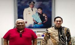Gubernur Sultra Bahas Ketahanan Pangan dengan Yudhistira
