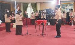 Hj Raudatul Jannah Lantik Pengurus Gerakan Pramuka Banjar