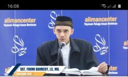 Ciri-Ciri Puasa Ramadhan Diterima. Foto: Ketua umum Pengurus Besar Pemuda Al Irsyad Ustaz Fahmi Bahreisy Lc, Msi.