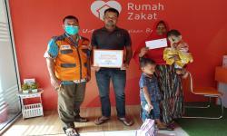 Rumah Zakat Salurkan Bantuan Tahap Dua bagi Zulfikar