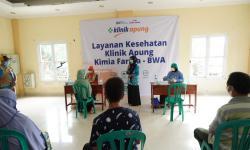 Klinik Apung Kimia Farma-BWA Sambangi P Panggang & P Pramuka