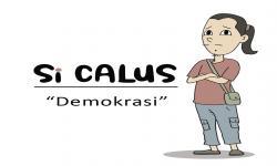 Komik Si Calus 'Demokrasi'