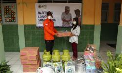 Laziz Pindad-Rumah Zakat Beri Bantuan kepada Korban Longsor