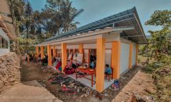 Madrasah yang Rusak Karena Gempa Kini Kembali Berdiri Tegak