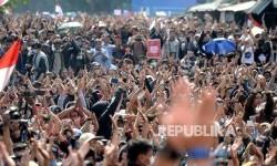 Aksi Mahasiswa Tolak UU KPK dan RKHUP