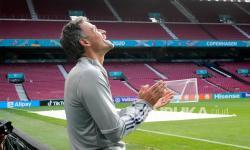 Pelatih timnas Spanyol Luis Enrique.