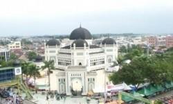 Gelar Sholat Ied, Masjid Agung Medan Wajibkan Prokes Ketat