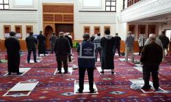 Masjid Brent menjadi Pengujian Vaksinasni Inggris