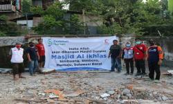 BSMI NTB Bangun Masjid Darurat Bagi Penyintas Gempa Sulbar