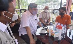 Kunjungi Alumni Prakerja, Airlangga Jadi Tempat <em>Curhat</em>