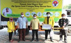 Menpora Beri Bantuan Alat Kesehatanke Organisasi Mahasiswa