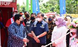 Menteri BUMN-Kepala BPH Migas Resmikan Pertashop Pesantren